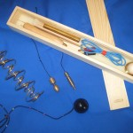Dowsing pendulum and rod sets.post