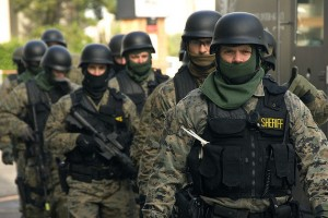 Police militarization, the dangers!