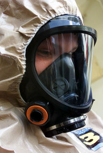 Pandemic USMC protective clothing