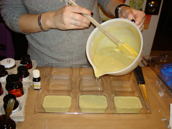 soap making laboratory 1 making soap - saponification objectives the objective of this laboratory is to make lye soap via the saponification reaction background soap making has remained unchanged over the centuries.