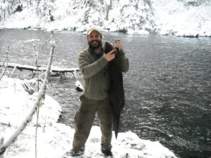 Cold Weather Alaskan_Otter_Dec,_2009