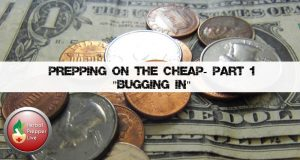 Prepping on the Cheap Part One: Bugging In