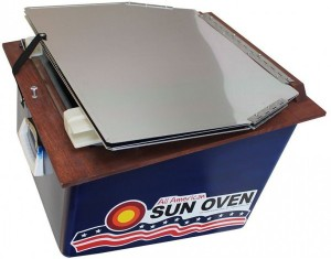 Cooking all-american-sun-oven