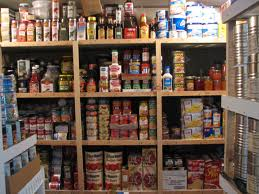 Supply food storage room