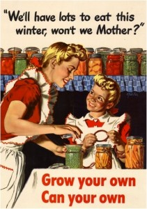 Food storage canning_foods_vintage