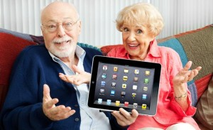 Technological Divide old-people-with-ipad