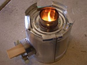 Tin Cans & Survival stove
