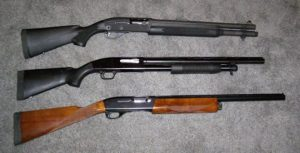 Survival Shotguns and Rifles