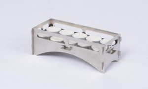 TEA LIGHT OVEN - Tea Candle Tray with candles