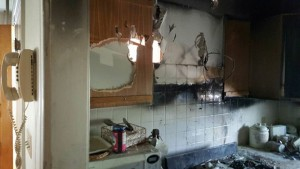 House Fire Grease fire 1st floor