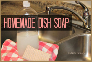 Herbal Cleaning Homemade-Dish-Soap