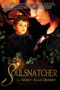 10-30-14 Soulsnatcher by Kerry Alan Denney cover with JR blurb