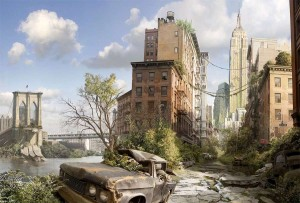 Disaster Movies Post apocalyptic paradise
