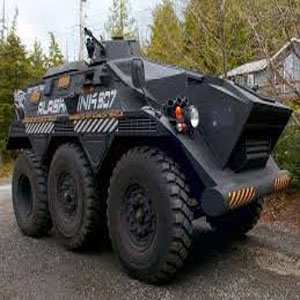 Armor, bug out vehicles!