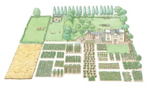 The self sufficient home Homestead Plan
