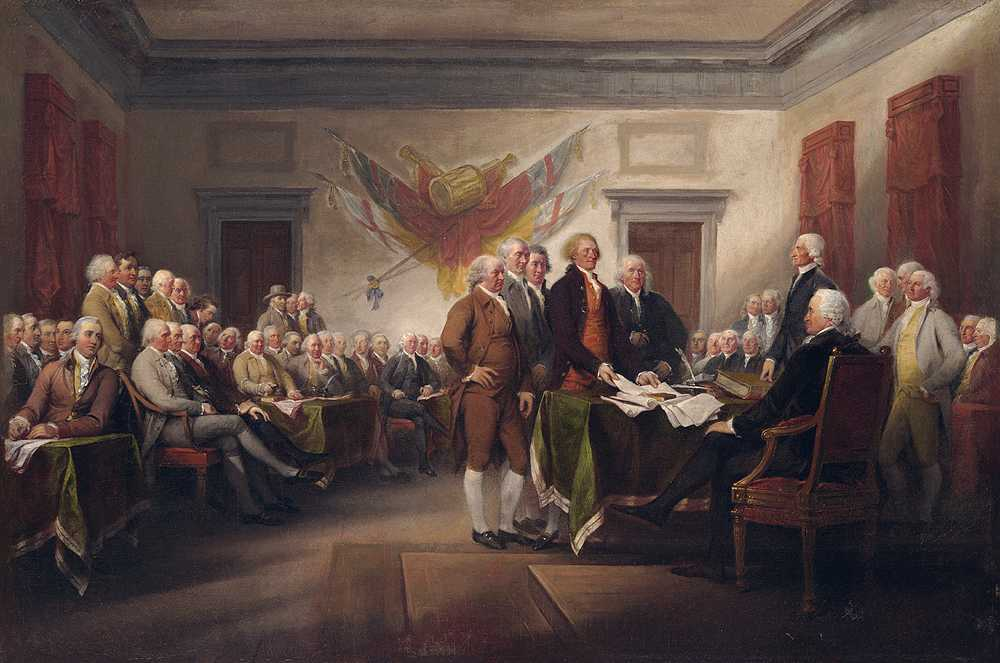 July 4 Declaration of Independence!