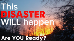 Preparing for your personal disaster